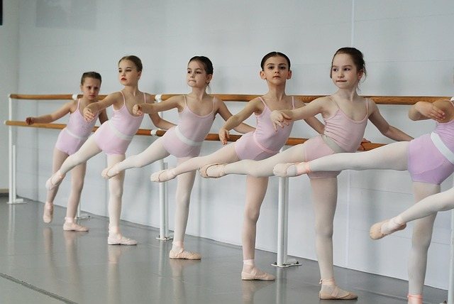 trénink baletek