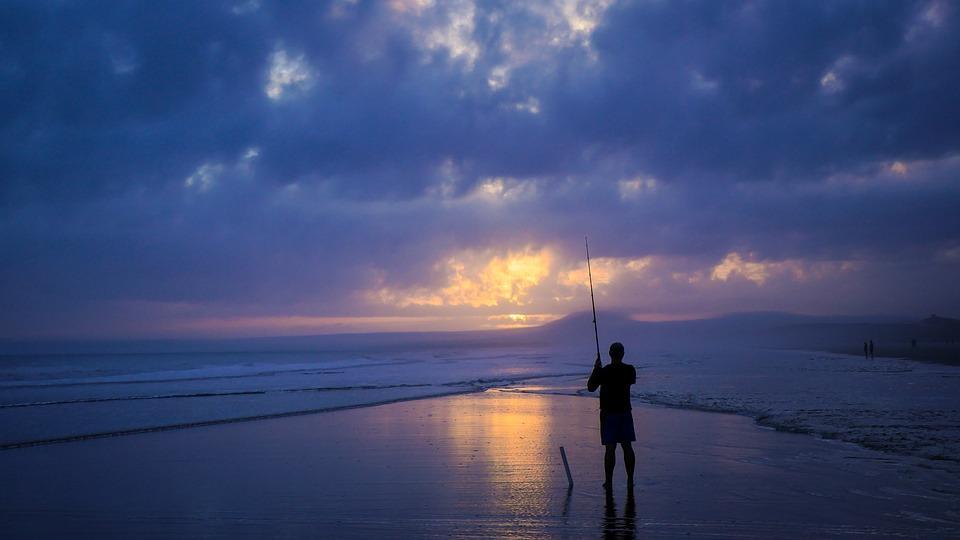 rybaření u moře