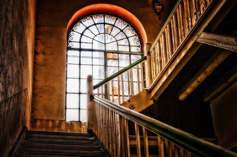 schody v domě