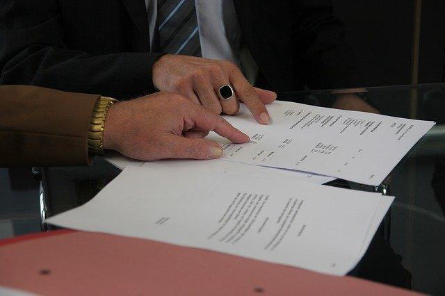 uskutečněný kontrakt