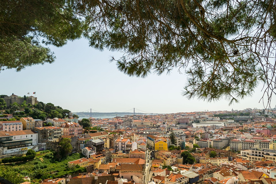 vyhlídka na Lisabon